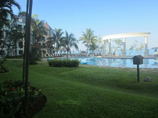 Sandals South Coast: Dutch Pool- our view from the honeymoon beachfront walkout room