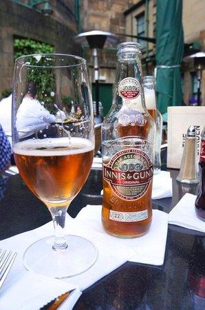 Mercure Edinburgh City - Princes Street Hotel: Deliciosa Cerveza Innis & Gunn