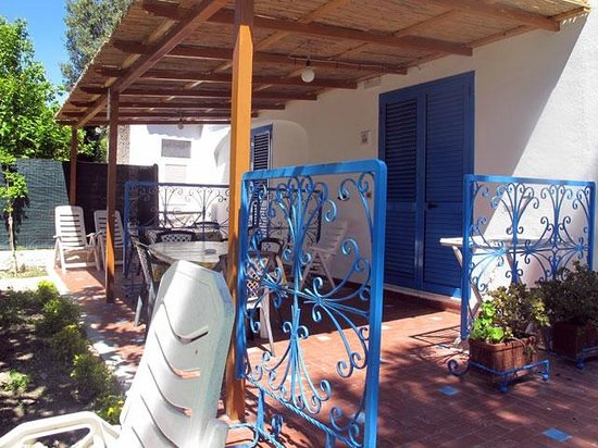 Park Hotel Residence Villa Marinu': Terrazzini