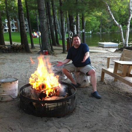 Shamrock Lodge: Great Fire PIt