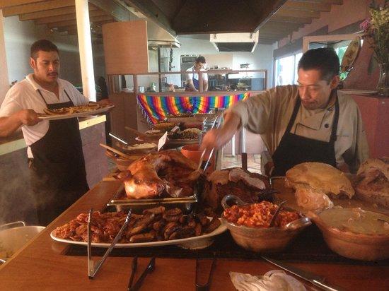 La Fonda Hotel & Restaurant : Brunch