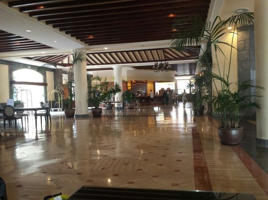 Dream Hotel Gran Tacande: Reception area