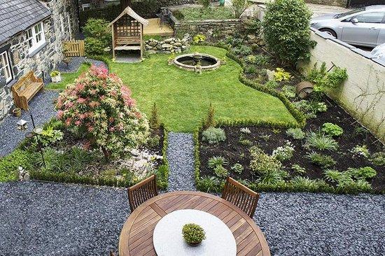 Plas Gwyn B&B & Cottage: Plas Gwyn Garden