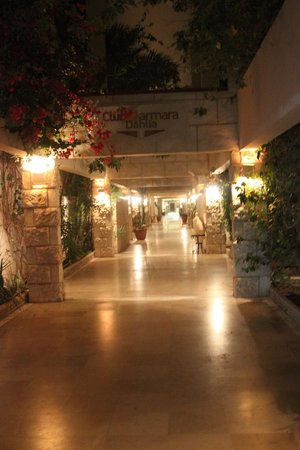 Club Marmara Dahlia : tunnel des 4 hotels !