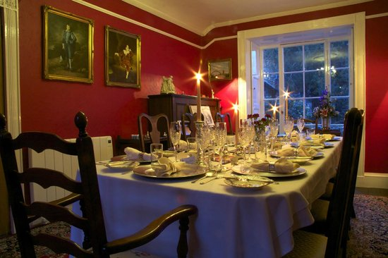 Plas Gwyn B&B & Cottage: Plas Gwyn Breakfast/Dining Room