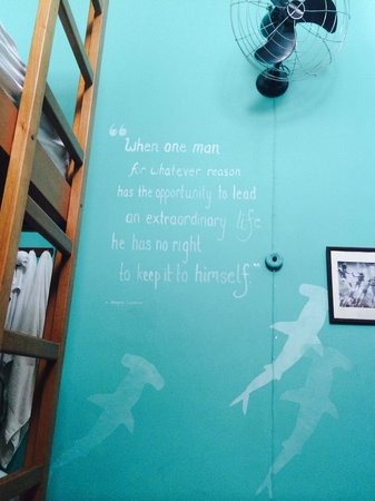 Discovery Hostel : Inspiration in the rooms