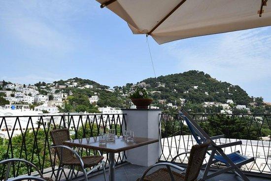 Hotel La Tosca : Public Breakfast Terrace