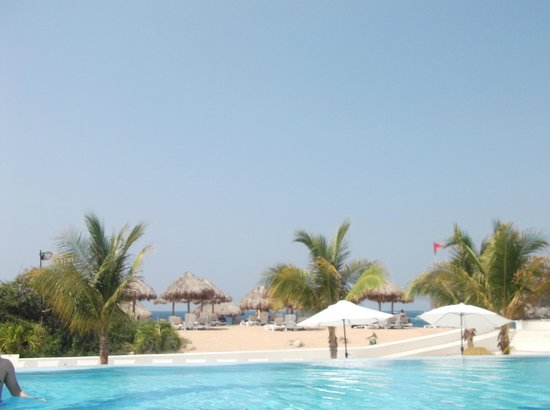 Secrets Huatulco Resort & Spa : el horizonte