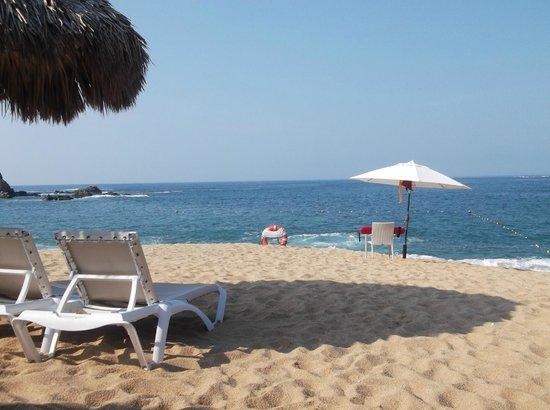 Secrets Huatulco Resort & Spa : Comodidad en la playa