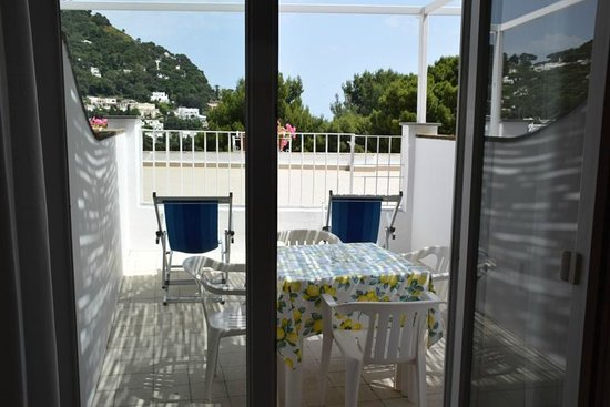 Hotel La Tosca: Terrace from the room