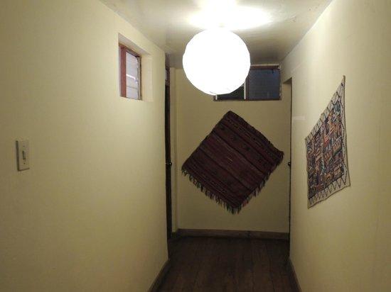 Janaxpacha Hostel: Pasillo