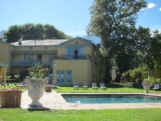 Franschhoek Country House & Villas: Pool