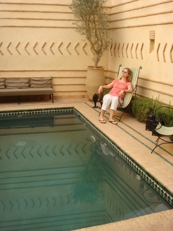 La petite piscine du ryad Dar el Hana