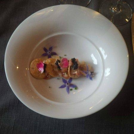 Au Pois Gourmand : Sashimi de homard
