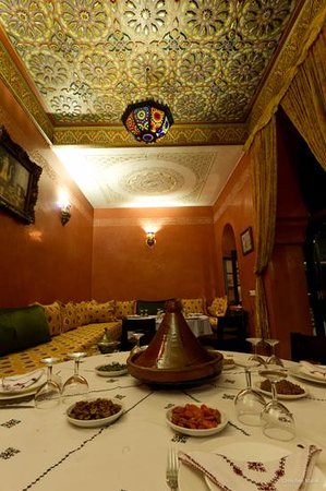 Riad Yacout Meknes: Restaurant
