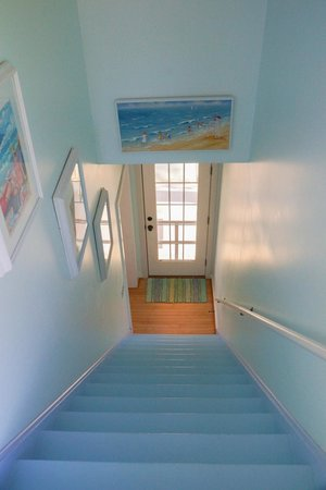 Blessings by the Beach: Stairs from Seaglass King Room