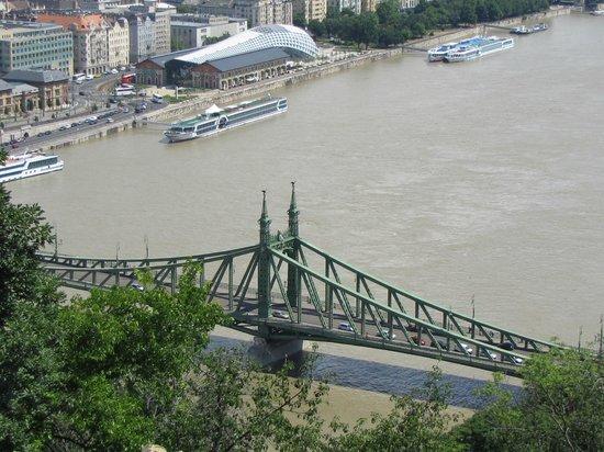 Gellért-hegy : il ponte dall'alto