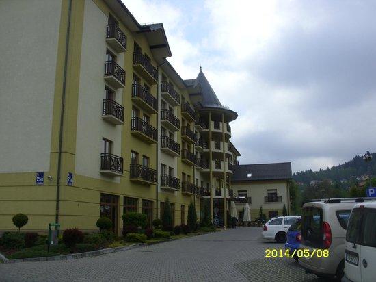 Hotel Verde Montana Wellness & Spa : Hotel!