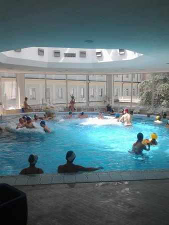 Piscina termale picture of grand hotel nuove terme - Hotel rapolano terme con piscina termale ...