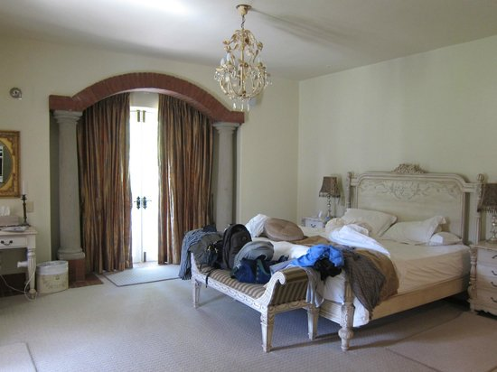 Franschhoek Country House & Villas: Villa Bedroom