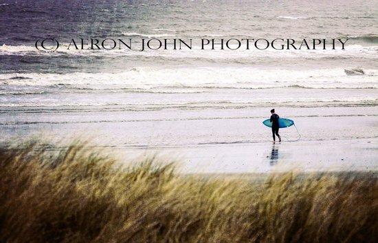 Pembrokeshire Photo Walks: Surfer