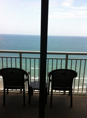 Paradise Resort: Balcony view from 1403