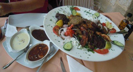 Mama Sofia's: mixed meat