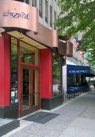 Kimpton Hotel Monaco Seattle : Sazerac Restaurant next to Hotel Monaco
