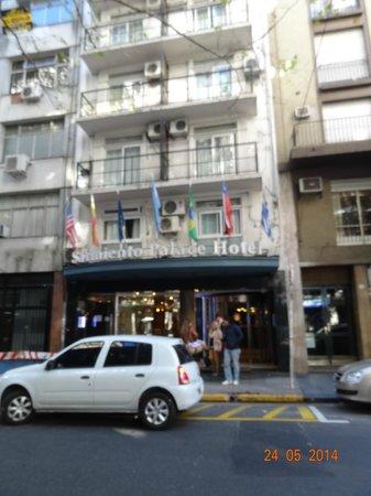Sarmiento Palace Hotel: Fachada do Hotel antiga