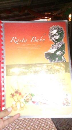 Rasta Baby : menu