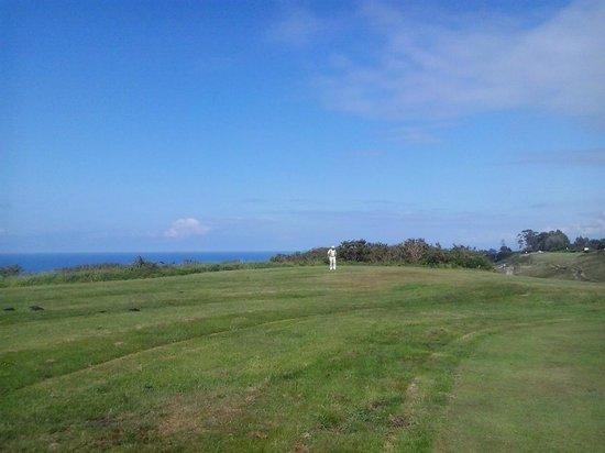 Golf Municipal de Llanes: Link abierto