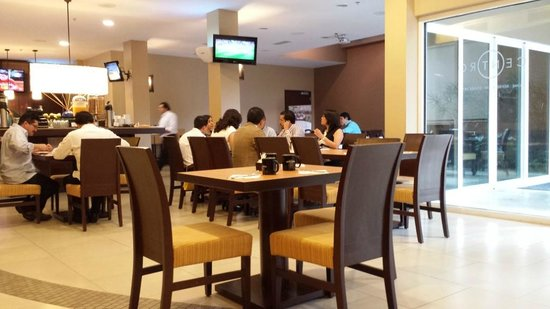 Courtyard by Marriott San Jose Airport Alajuela: Cafe