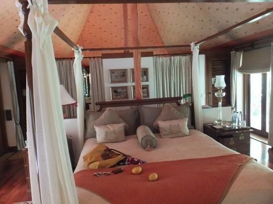 The Oberoi Vanyavilas : My tent!