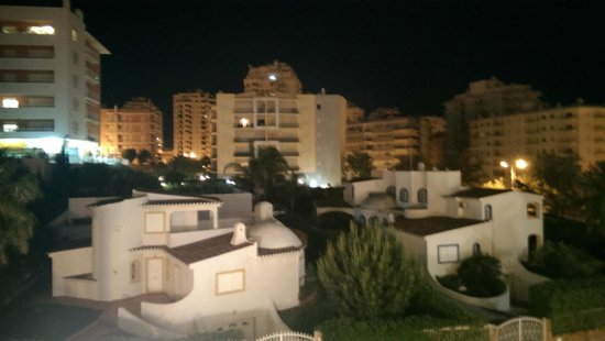 Vila Galé Náutico : night view from room