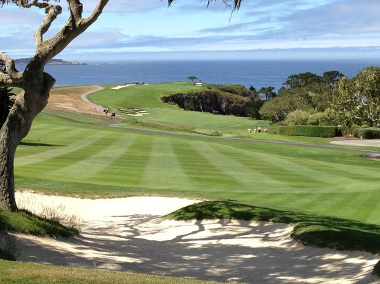 Pebble Beach Golf Links: A View from the Sand Trap