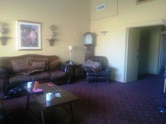 Jerome Grand Hotel: Main living area