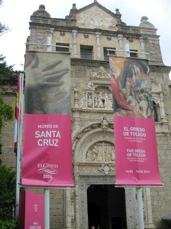 Museo de Santa Cruz: Toledo Museo Santa Cruz - El Greco Exhibition