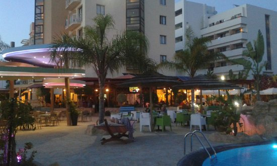Stamatia Hotel: Ресторан