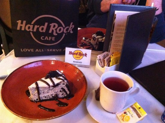 Hard Rock Cafe Venice: Oreo cheesecake