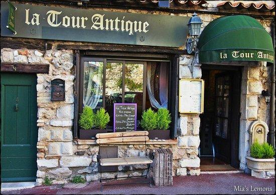 La tour antique antibes restaurant avis num ro de for Restaurant antibes