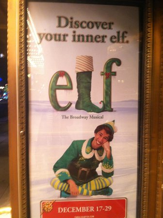 The Fox Theatre: Poster for Elf the Musical