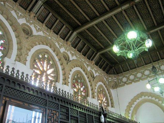 Estación del Ferrocarril: Toledo Train Station - Wood carved ceilings