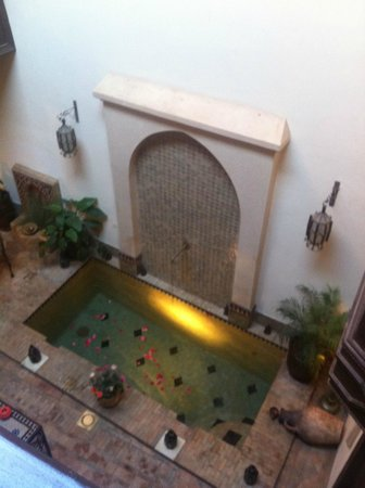 Riad Aubrac: Patio
