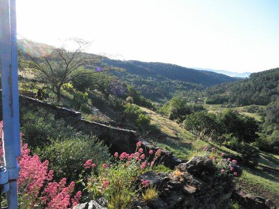 La Bastide d'Aguyane : vue depuis la chambre