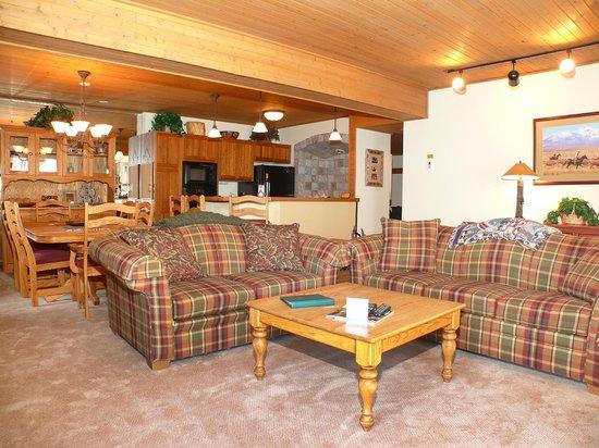 Dulany at the Gondola Condominiums: Living Area