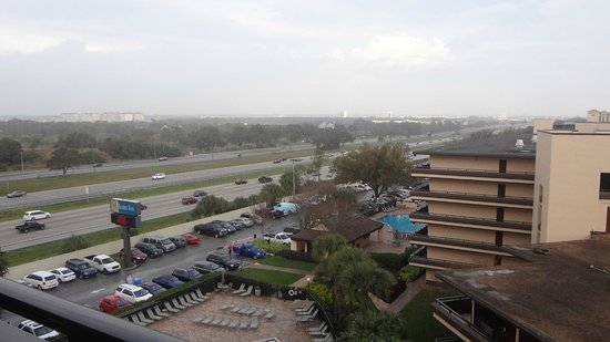 Rosen Inn at Pointe Orlando: vista do quarto do 8º andar