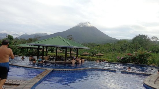 Arenal Manoa Hotel : Volcano view