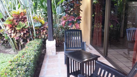 Arenal Manoa Hotel: Room deck