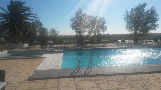 L'Auberge Cavaliere Du Pont Des Bannes: piscine