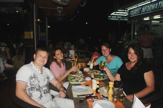 Aning Restaurant : Ужин)